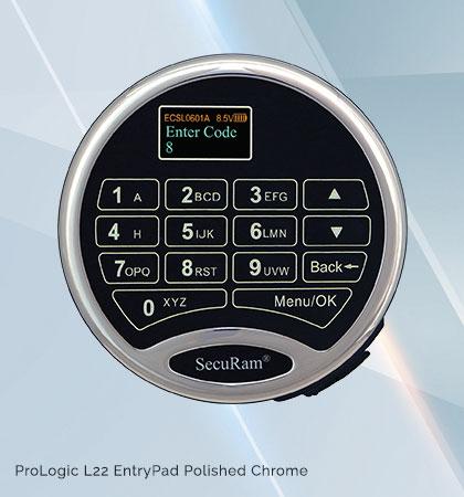 Super Code Audit 30 Users SecuRam L22-II Keypad /& Lock Kit-Time Delay Duress